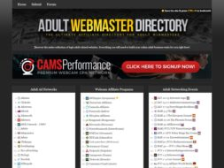 Adult Webmaster Directory