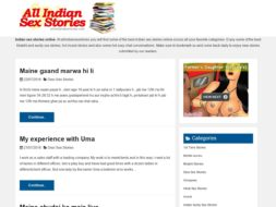 All Indian Sex Stories
