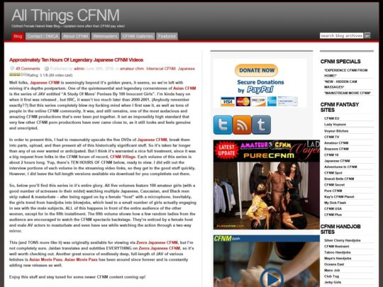 All Things CFNM