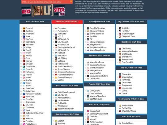 Best MILF Sites®