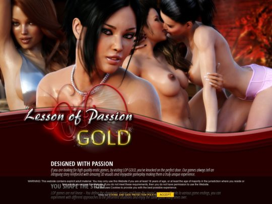 Lesson Of Passion GOLD