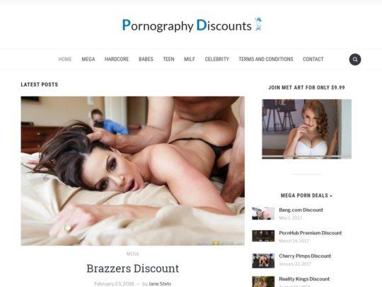 Pornography Discounts