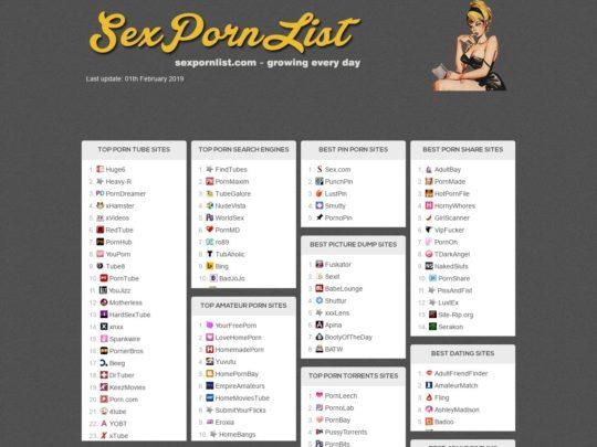 SexPornList