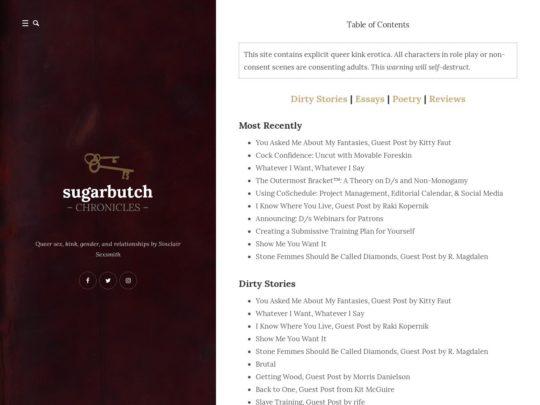 Sugar Butch Chronicles