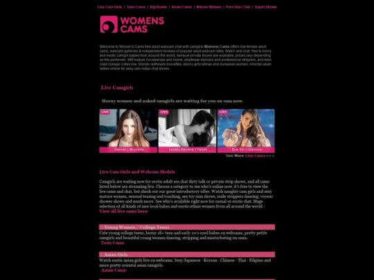 Women's Cams